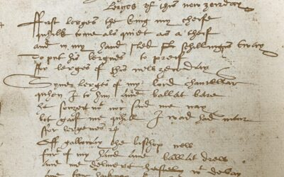 I haif thame found so liberall: A Scottish New Year Carol of 1527 and CEMS ANU in 2021